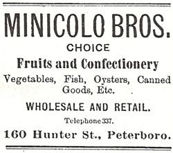 1899 Advertisement