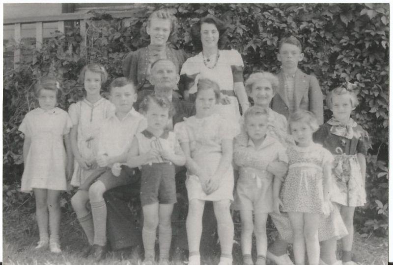 Hughes family gathering