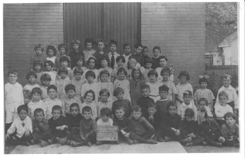 1920's Class Photo