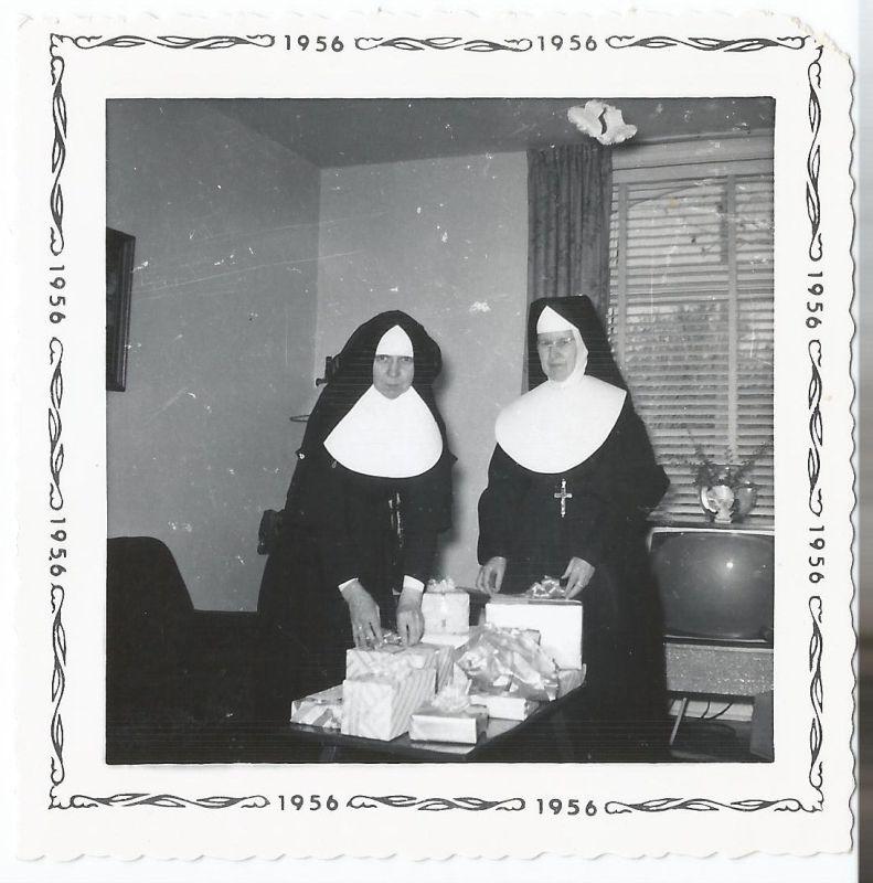 Sisters Macrena and Hughes